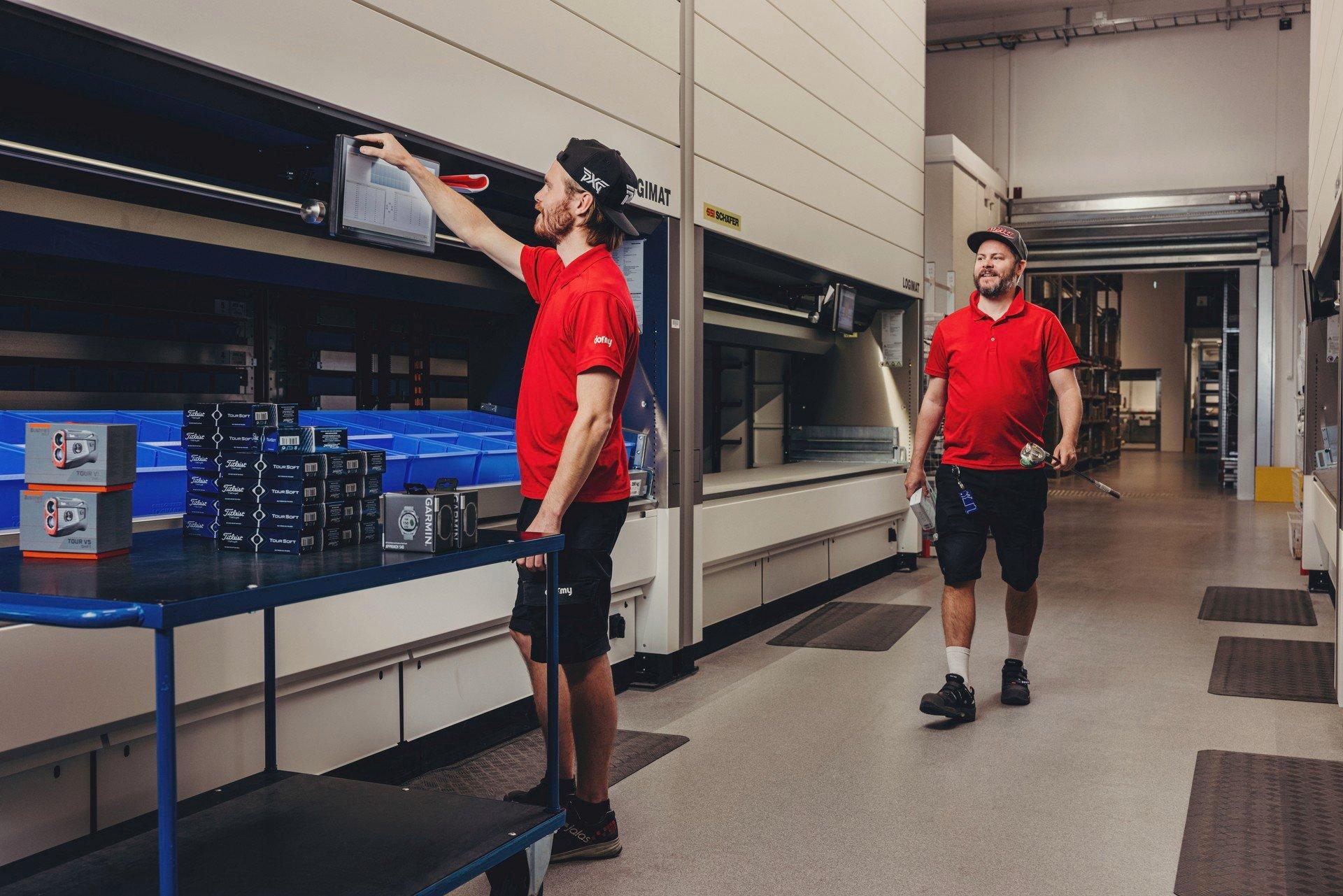Dormy Golf använder lagerautomater från SSI Schäfer